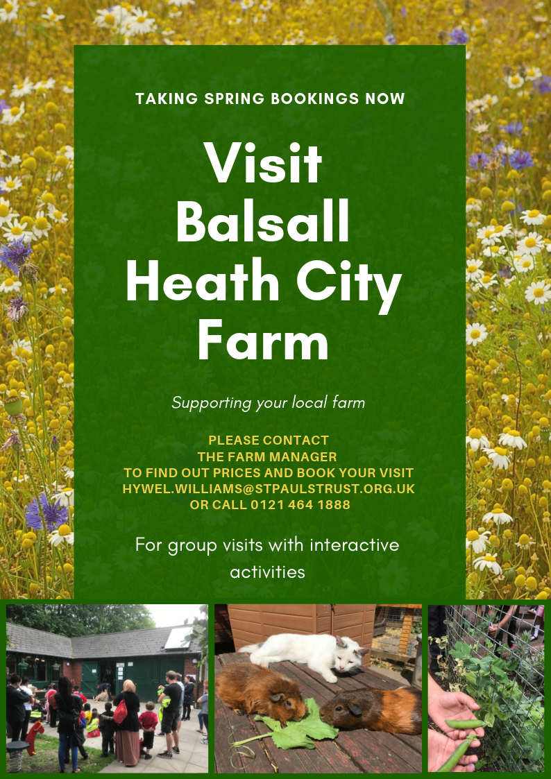 Farm Nursery Group Visit Poster