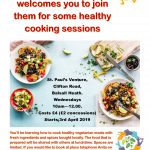 Cooking Sessions at the Farm Over 50's