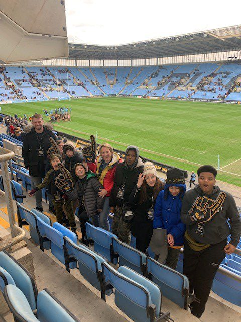 School Trip to the Rugby - Wasps vs Worcester