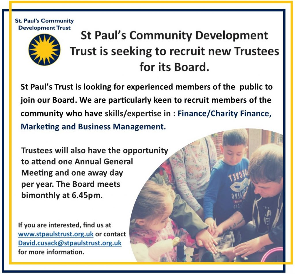 Trustee Advert 2020